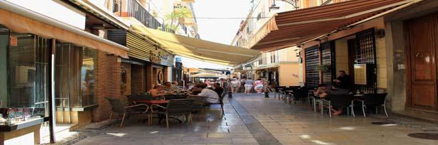 """""""calle Navas, terrazas y toldos"""