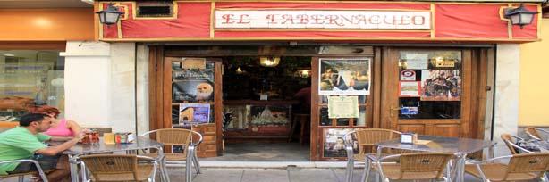 """""""Entrada al bar El Tabernáculo"""""""