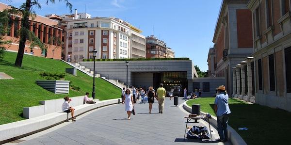 imágen entrada al museo del prado