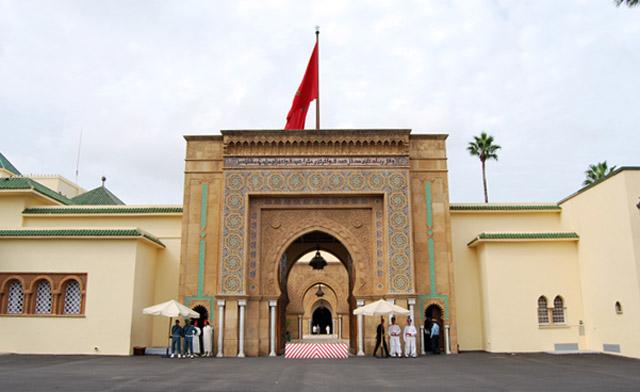 palacio real en rabat
