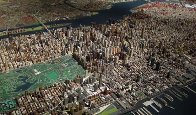 maqueta nueva york