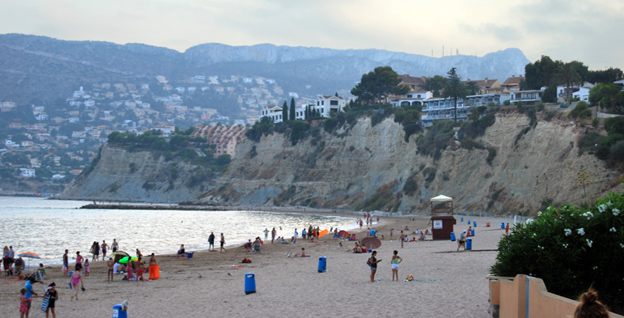 playa de calpe