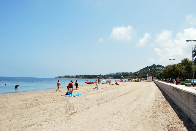 playa en denia