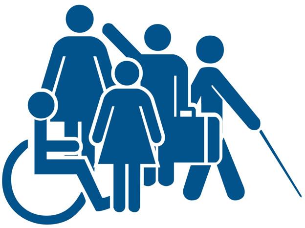 Icono Baño Minusvalidos:Personas Con Discapacidad