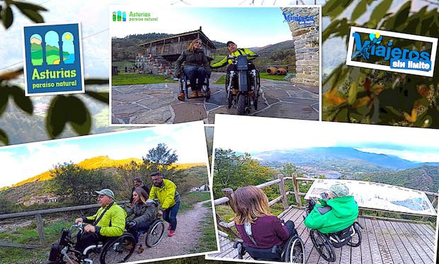 Con nuestra amiga blogger por diferentes lugares de Asturias
