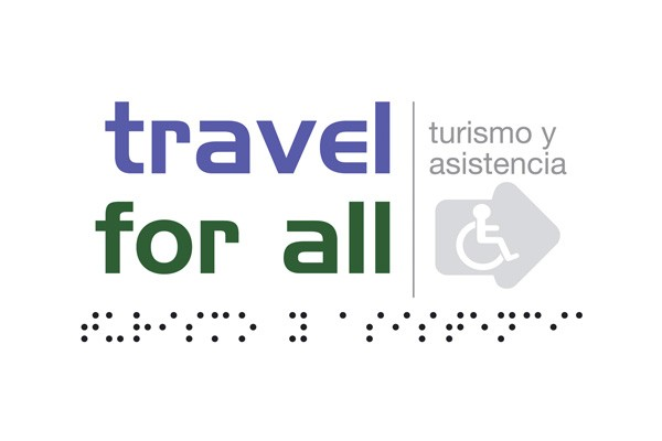 logotipo de travel for all