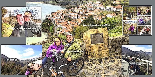 Miguel y Eva en Asturias