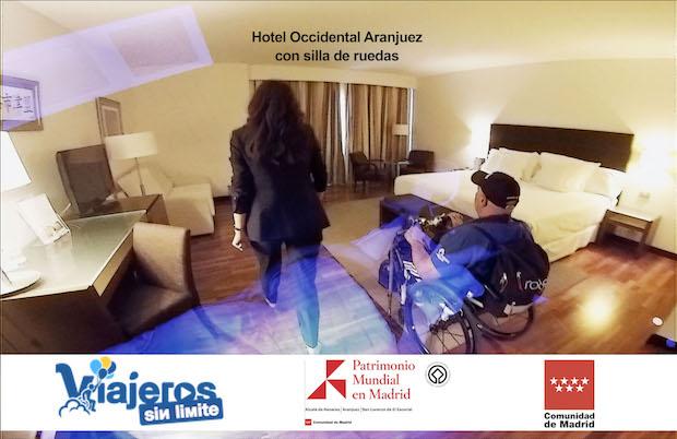 fusión de imágenes de Miguel en el hotel